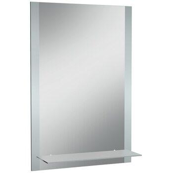 Зеркало Классика 01 500*800 с полкой мат. Домино