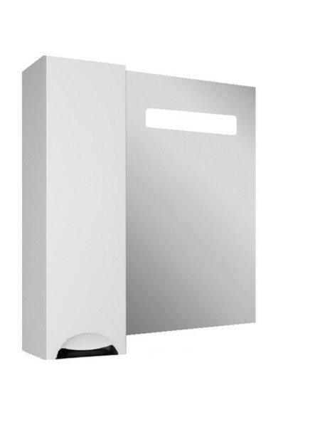 Шкаф-зеркало Грация 60 левый с подсветкой LED Домино