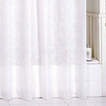 Штора для ванной комнаты, 180*200 см, полиэстер, winter leaf, SCMI081P