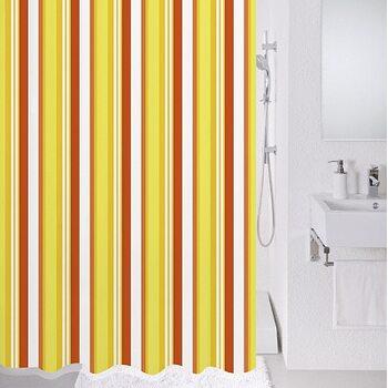 Штора для ванной комнаты, 180*200 см, полиэстер, Flag stripe, Milardo, 730P180M11