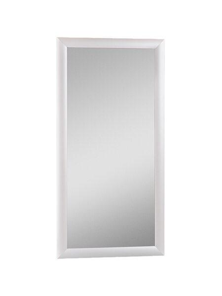 Зеркало МДФ профиль 600х400 Алюминий Домино