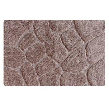 Коврик для ванной комнаты, 50х80см, микрофибра. grey stones, MID200M