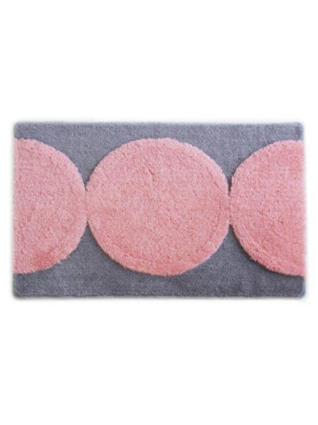 Коврик для ванной комнаты, 60х90см, акрил, Pink Pearls, 281A690i12