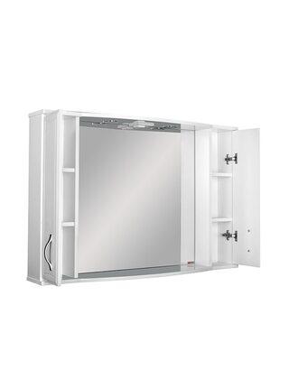 Шкаф-зеркало Элегант 105 Идеал Эл. Домино