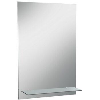 Зеркало Классика 01 400*600 с полкой мат.Домино