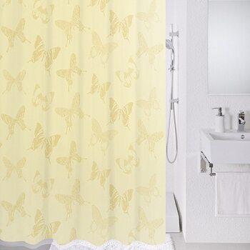 Штора для ванной комнаты, 180*200 см, полиэстер, Ivory dream, Milardo, 770P180M11