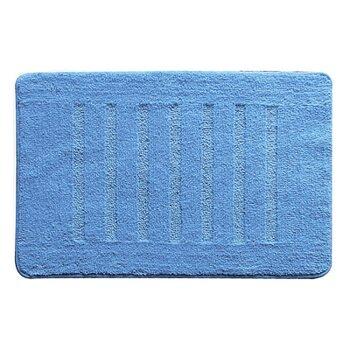 Коврик для ванной комнаты, 50х80 см, микрофибра, blue lines , MMI182M