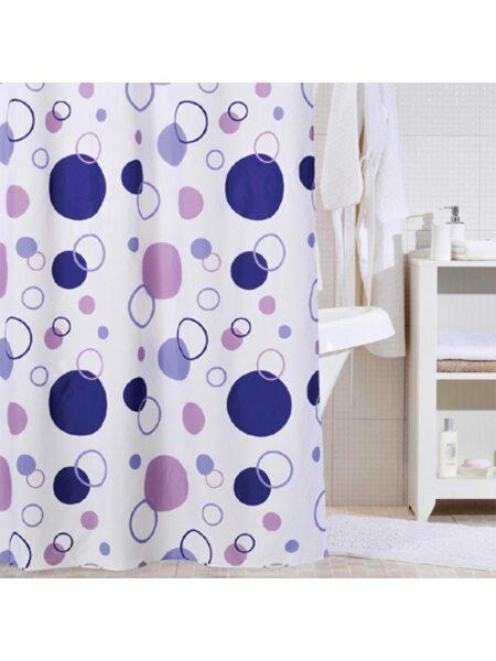 Штора для ванной комнаты, 200*240 см, полиэстер, floating balloon,IDDIS, 240P24RI11