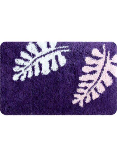Коврик для ванной комнаты, 60х90см, акрил. Fern Dance, violet, IDDIS,421A690I12