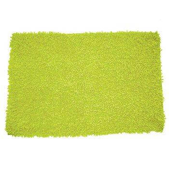 Коврик для ванной комнаты, 50х80см, хлопок. green leaf, MID181C