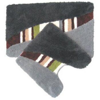 Набор ковриков для ванной комнаты, 50х80+50х50 см, акрил, taormina, MID170AS