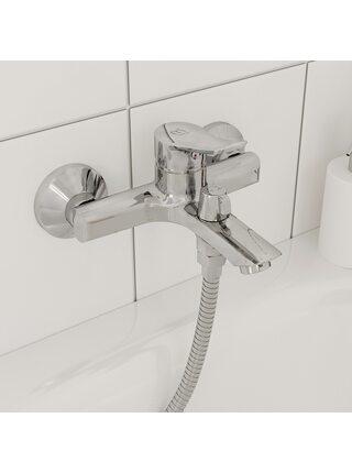 Смеситель для ванны Amplex AMPSB02M02