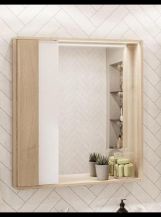 Шкаф-зеркало БОСТОН 60 Акватон 1A240202BN010