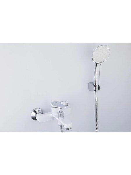 F3245 Смеситель для ванны, белый/хром FRAP