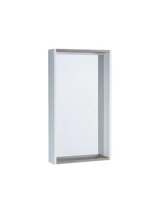 Шкаф-зеркало Бэлла белый/джара Акватон 1A221702BBAZ0