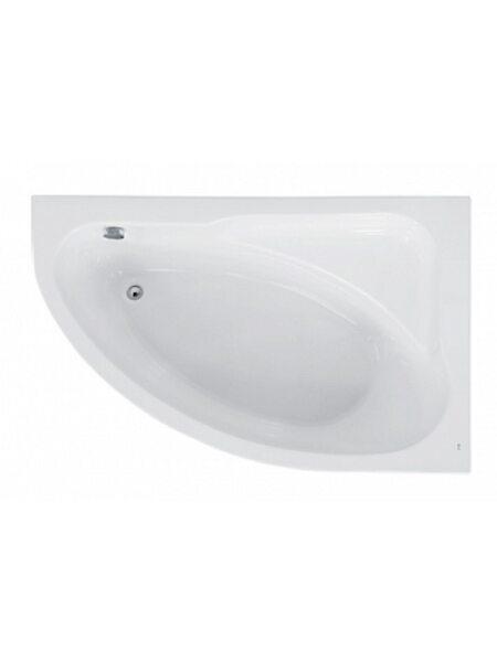 Ванна ассиметричная Welna правая,160*100, без монтажного комплекта, ZRU9302998, Roca