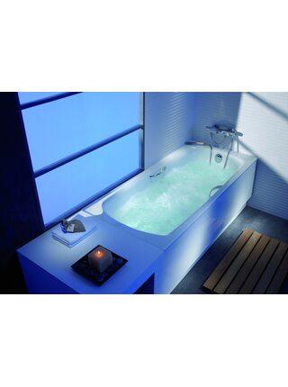 Ванна стальная Roca Swing 180*80 с ножками и ручками 2200E0000