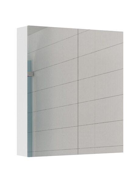 Шкаф-зеркало Норма 60 Айсберг