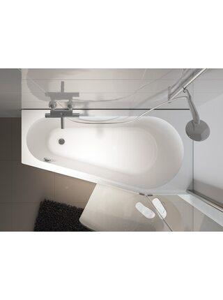 Ванна акриловая DELTA LEFT 160x80, BB8300500000000, Riho