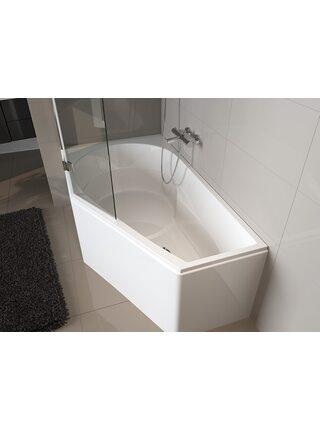 Ванна акриловая YUKON LEFT 160x90, BA3500500000000, Riho