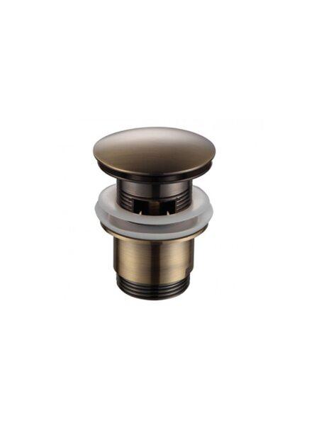 Донный клапан с переливом F60-4 Frap (бронза)