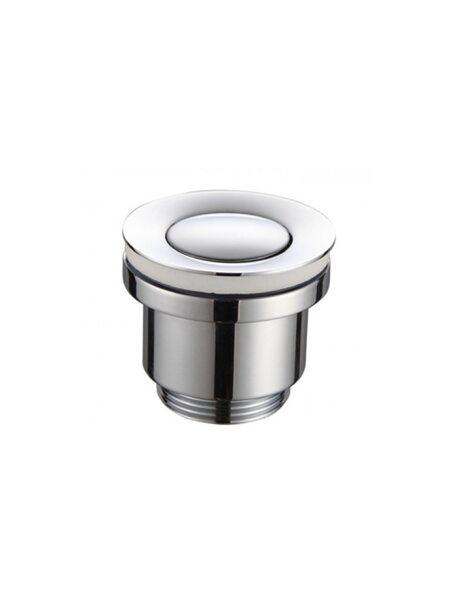 Донный клапан без перелива F61 Frap (хром)