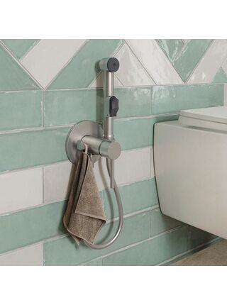 Встраиваемый смеситель с гигиеническим душем, IDDIS, 003BNR0i08