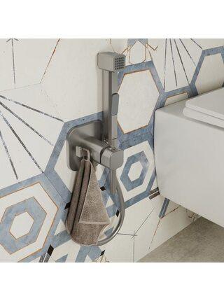 Встраиваемый смеситель с гигиеническим душем, IDDIS, 004BNS0i08