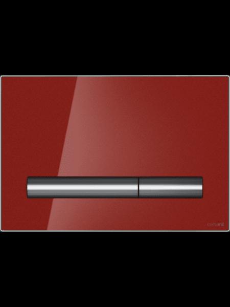 Клавиша смыва PILOT красный глянец Cersanit P-BU-PIL/Rdg/Gl