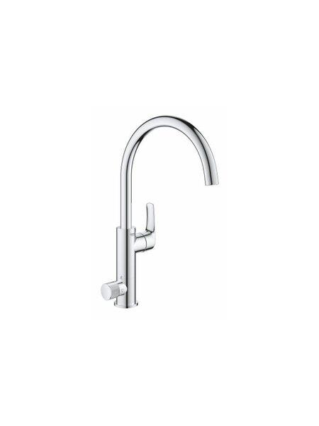 Смеситель для кухни GROHE Blue Pure Eurosmart с функцией очистки водопроводной воды, хром (31722000)