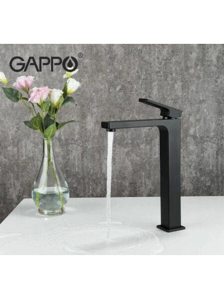 G1017-62 Смеситель для раковины, черный GAPPO