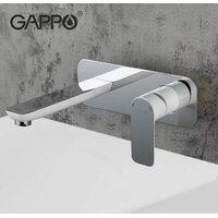 G1048-22 Смеситель для раковины, белый GAPPO