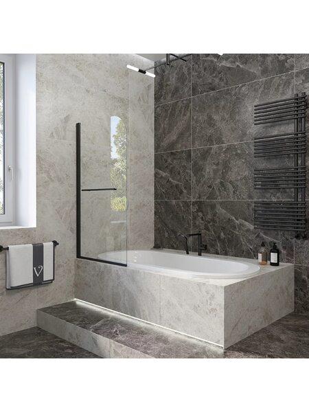 Шторка на ванну 70*150 Veconi (PL79B-70-01-C4)