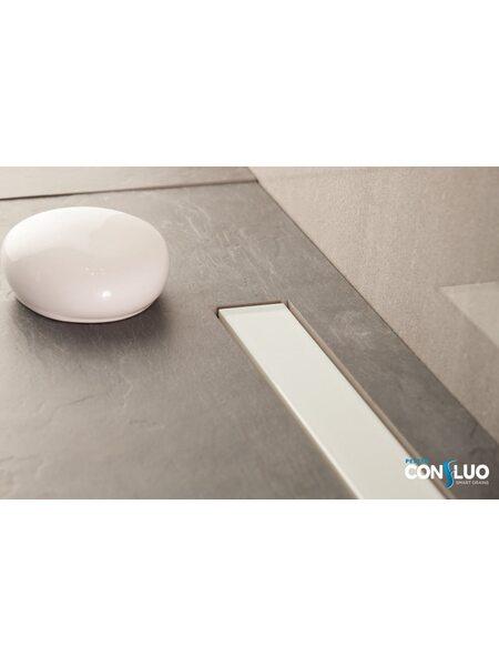 Душевой лоток Pestan Confluo Frameless Line White Glass  650мм (13701213)