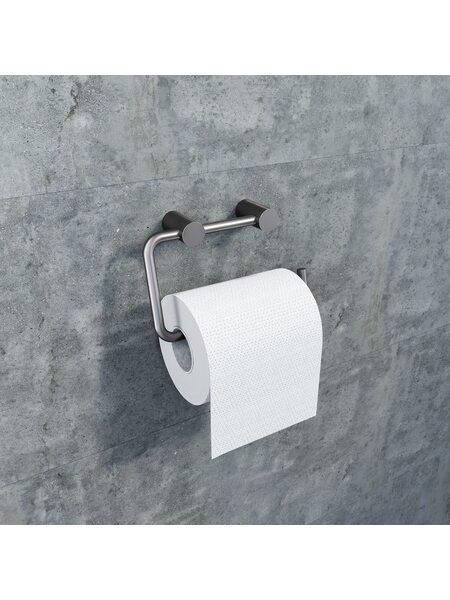 Держатель для туалетной бумаги Petite, графит, IDDIS, PETGM00i43