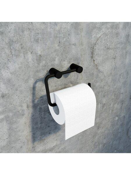 Держатель для туалетной бумаги Petite, черный матовый, IDDIS, PETBL00i43