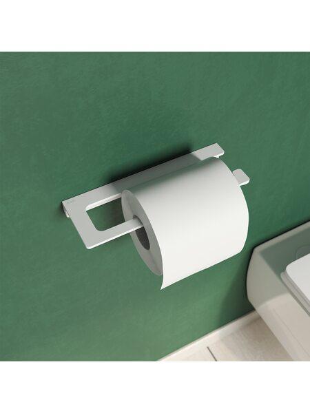 Держатель для туалетной бумаги Slide, белый матовый, IDDIS, SLIWT00i43