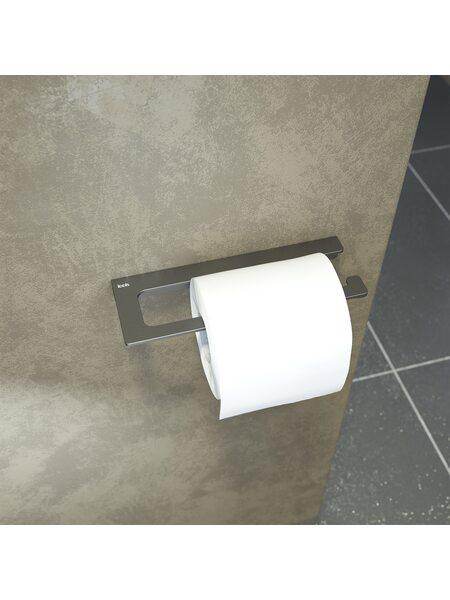 Держатель для туалетной бумаги Slide, графит, IDDIS, SLIGM00i43