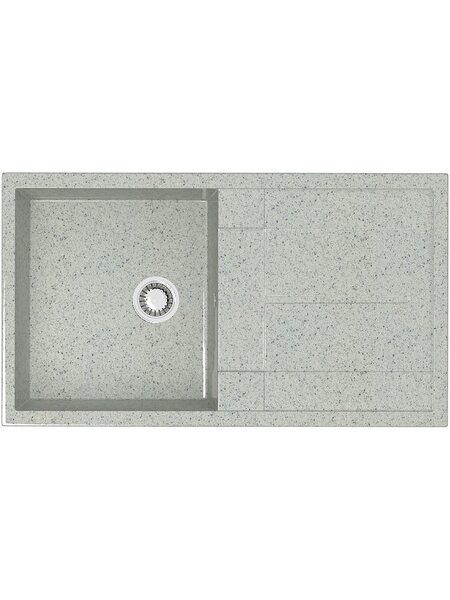 Мойка прямоугольная (505х865х195) Рони Z17Q10(светло серый)