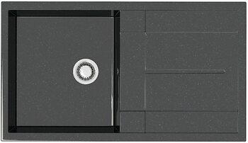 Мойка прямоугольная (505х865х195) Рони Z17Q4(черн.)