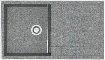 Мойка прямоугольная (505х865х195) Рони Z17Q8 (тем.сер.)