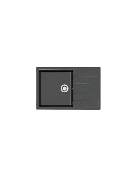 Мойка глянцевая Marrbaxx Джоли Z161 черный Q4 (750*505)