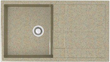 Мойка прямоугольная (505х865х195) Рони Z17Q5