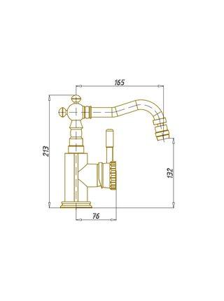 Смеситель на биде Bronze de Luxe Windsor 21688