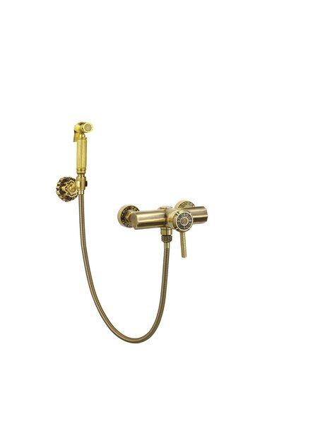 Гигиенический душ с настенным держателем Bronze de Luxe Windsor 10133