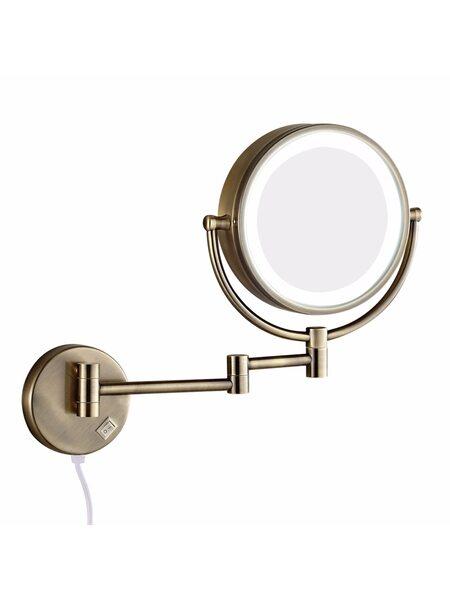 Зеркало косметическое электрическое с подсветкой Bronze de Luxe Royal 12201BR