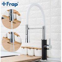 F4452-7 Смеситель для кухни с гибким изливом Frap