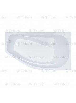Ванна Triton Скарлет 167*96 левая с каркасом