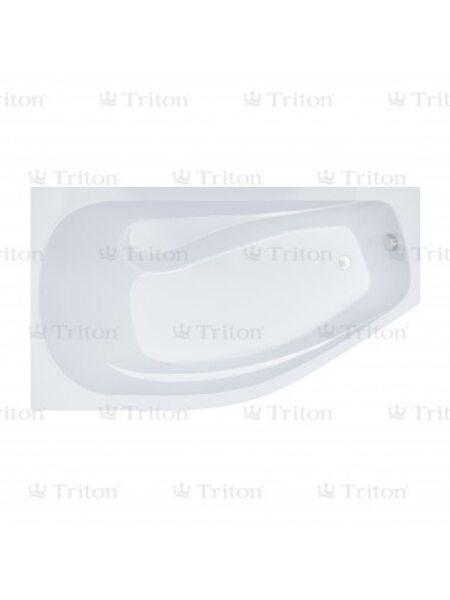 Ванна Triton Скарлет 167*96 правая с каркасом