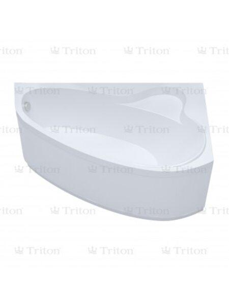 Ванна Triton Пеарл-шелл 160*104 левая с каркасом